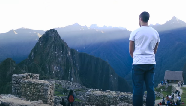Man at Machu Picchu_High on life