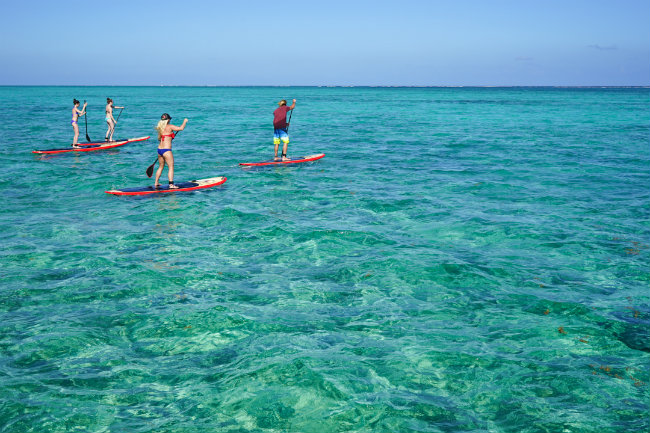 Stand up Paddle Boarding in Belize