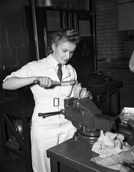 women at work vintage Air Canada hostess
