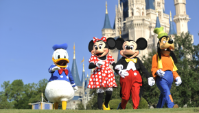 Disney characters in Magic Kingdom