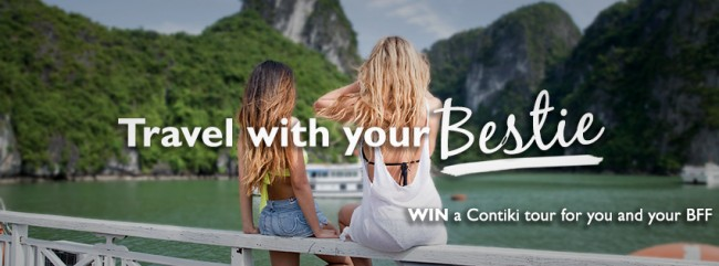 travel with your bestie banner