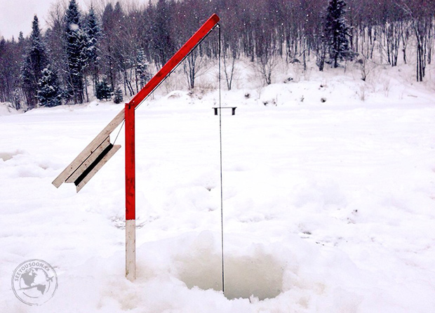 IceFishing in Quebec