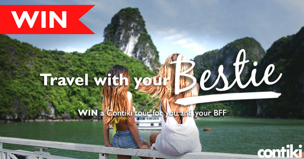 travel with your bestie travel contest