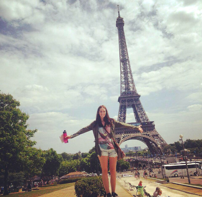 Bailey in Paris