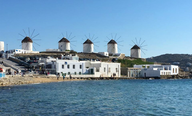 sailing greek islands