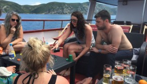 People sailing Croatia with Topdeck tours