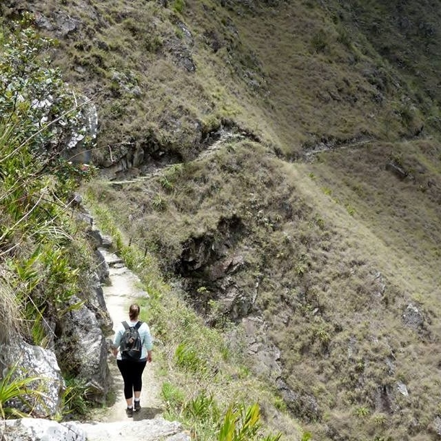 Chelsea on Inca Trail, Peru