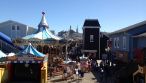 Fishermans Wharf in California
