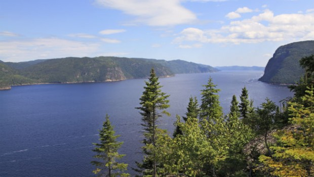 Saguenay Fjord Quebec water views