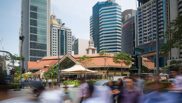 The Telok Ayer Market, Singapore