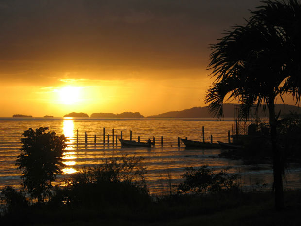 Point_Gourde_Trinidad_sunset