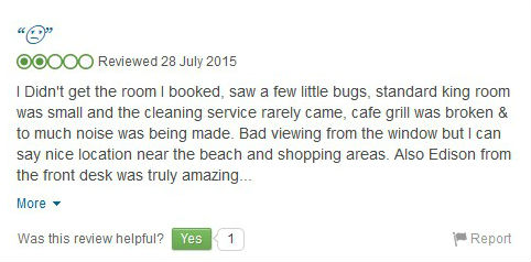 hotel reviews 6