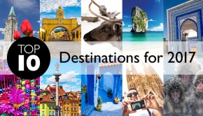top destinations 2017