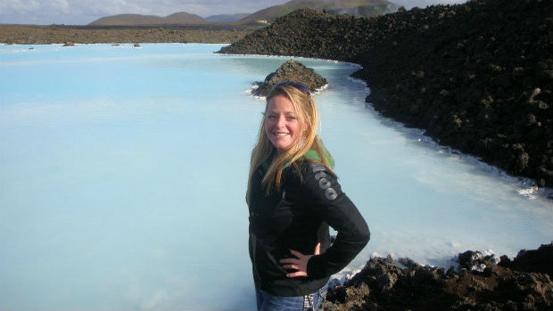 cruise expert melissa wand by the blue lagoon