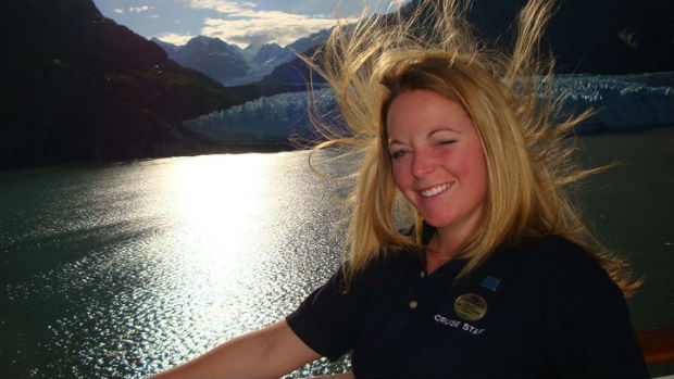 cruise expert melissa wand in glacier bay