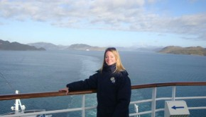 cruise expert melissa wand in greenland