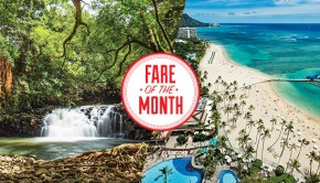 fare of the month-hawaii