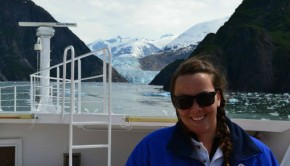 cruise expert helen easton in tracy arm
