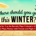 And the Winner of Our 'Where Should You Go This Winter' Contest is…