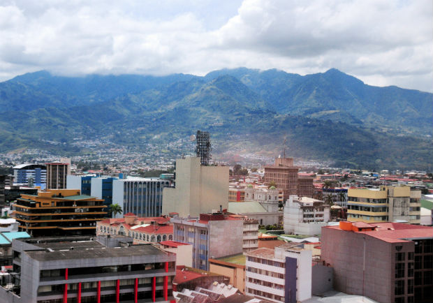 landscape of san jose costa rica