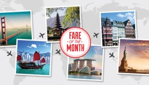 world wanderer fare of the month
