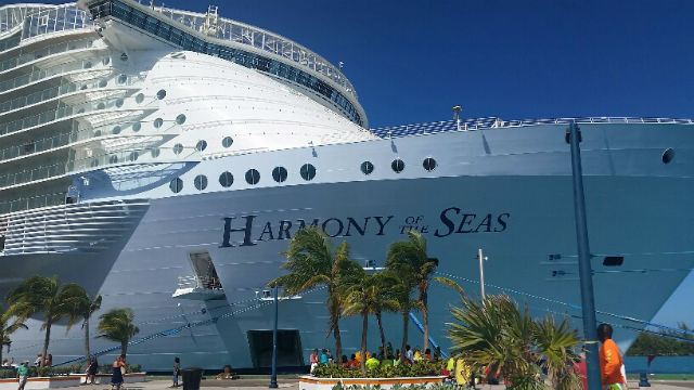 harmony of the seas bow