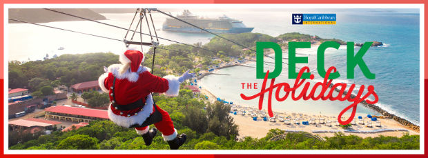 royal caribbean international deck the holidays
