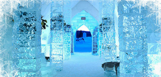 ice hotel quebec canada accommodation province