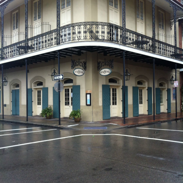 hotel marie in the french quarter in new orleans, louisiana