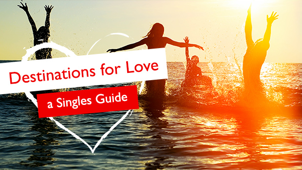 Singles guide image with people in the water