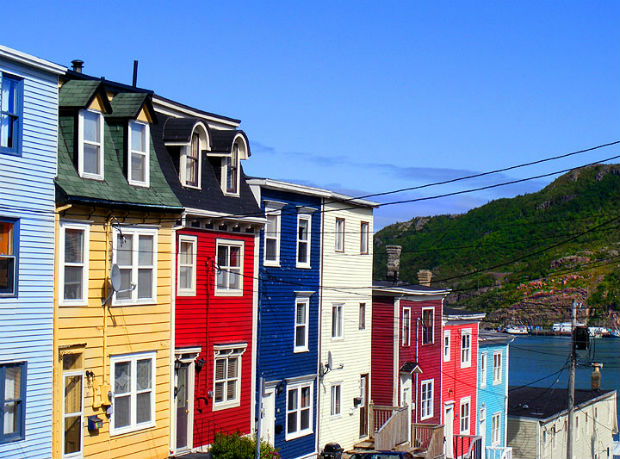jellybean row newfoundland labrador travel canada 150 flight centre wikimedia wikipedia commons