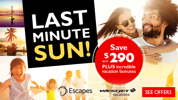 save on sun vacation deals and hotel resorts with westjet vacations and flight centre