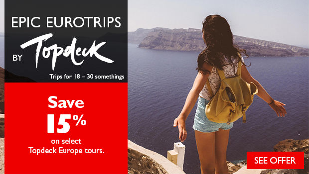save on tours to europe with topdeck and flight centre