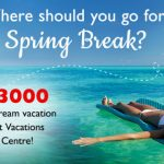 And the Winner of Our 'Where Should You Go for Spring Break' Contest is…