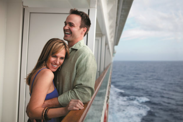 ncl cruise couple balcony