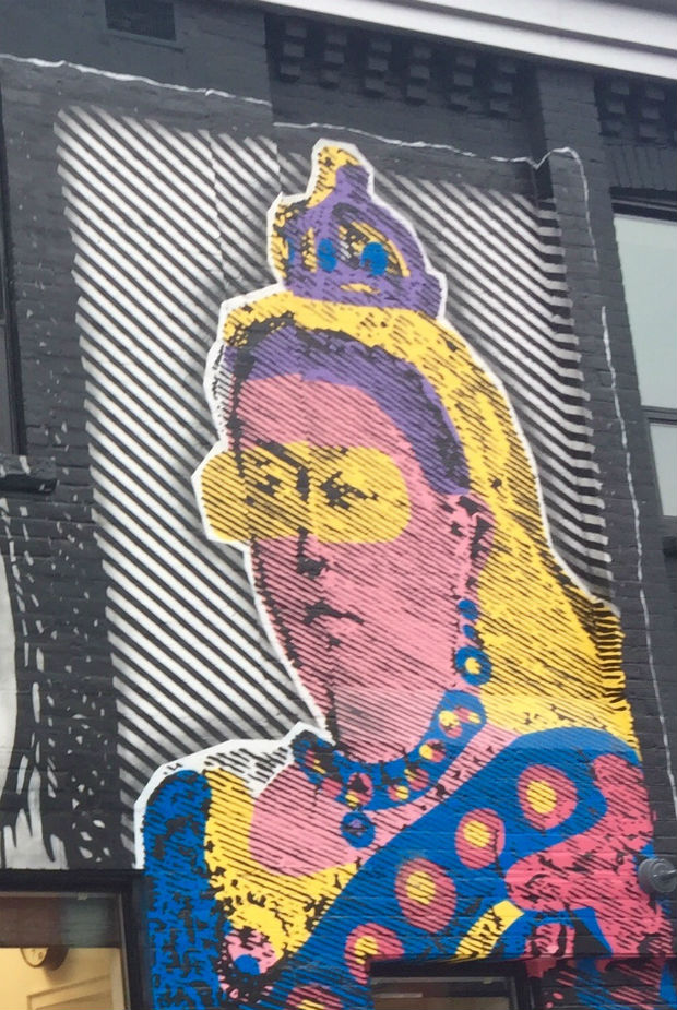 queen victoria graffiti queen street west toronto