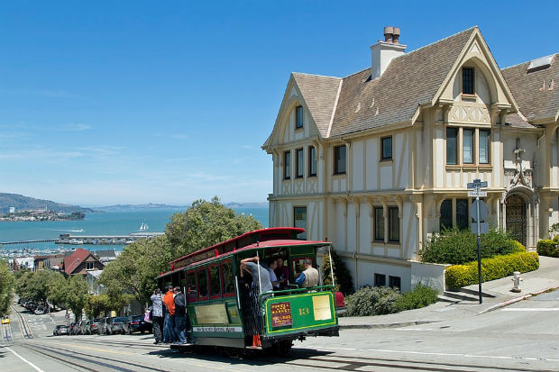 san francisco tourism flight centre california vacation packages cable car