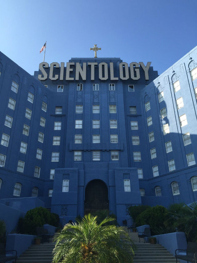 church of scientology headquarters in los angeles california