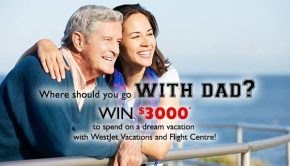 club red contest winner westjet vacations flight centre