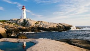 lighthouse nova scotia canada Atlantic Ocean Martime province beautiful