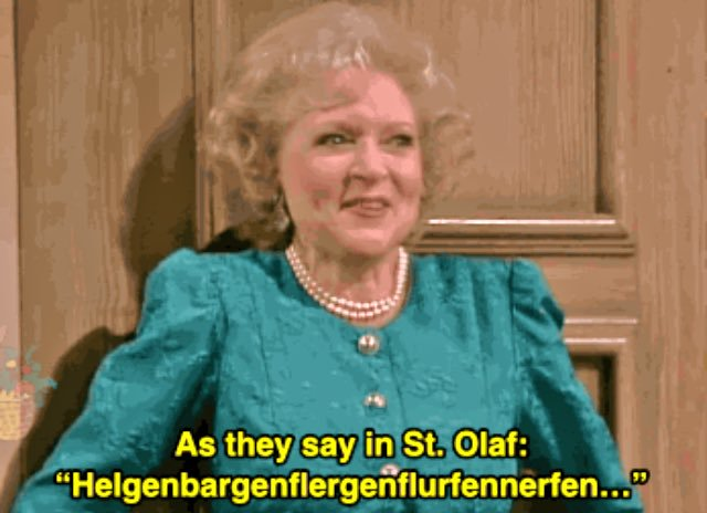 golden girls st olaf rose funny translation app