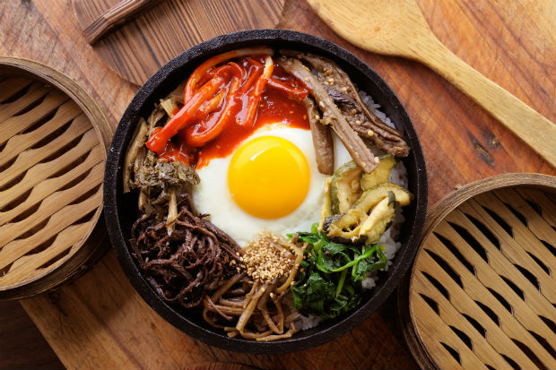 bibimbap a popular korean dish