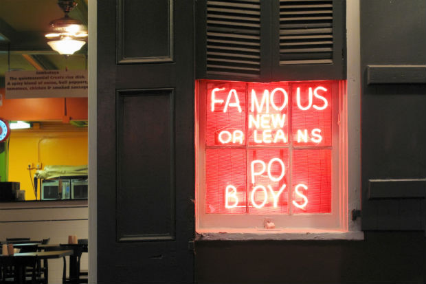po boys new orleans