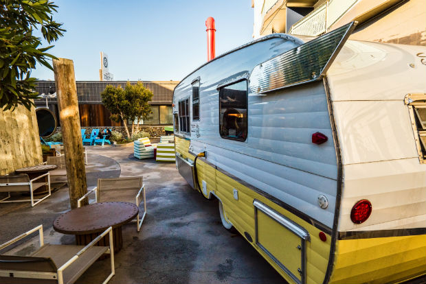 the camper restaurant at the zephyr san francisco