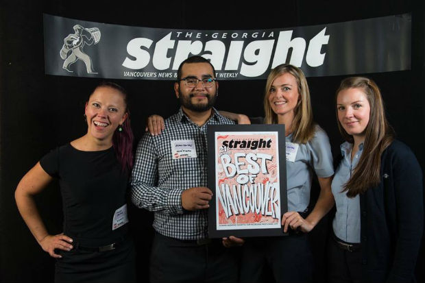 flight centre wins best travel agency in vancouver award georgia straight newspaper