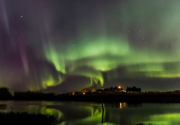 saskatchewan northern lights