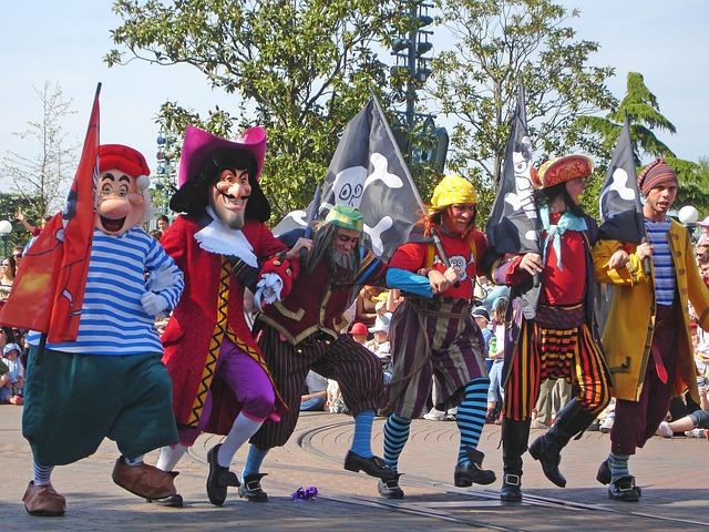 peter pan and disney world talk like a pirate day