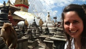 carolyn menard groups travel agent at monkey temple