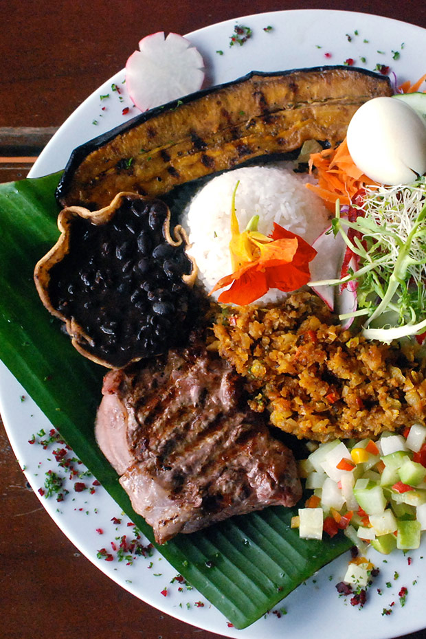 casada-costa-rican-dish-variety-of-meat-rice-vegetables-beans