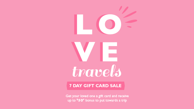 love travels flight centre gift card sale